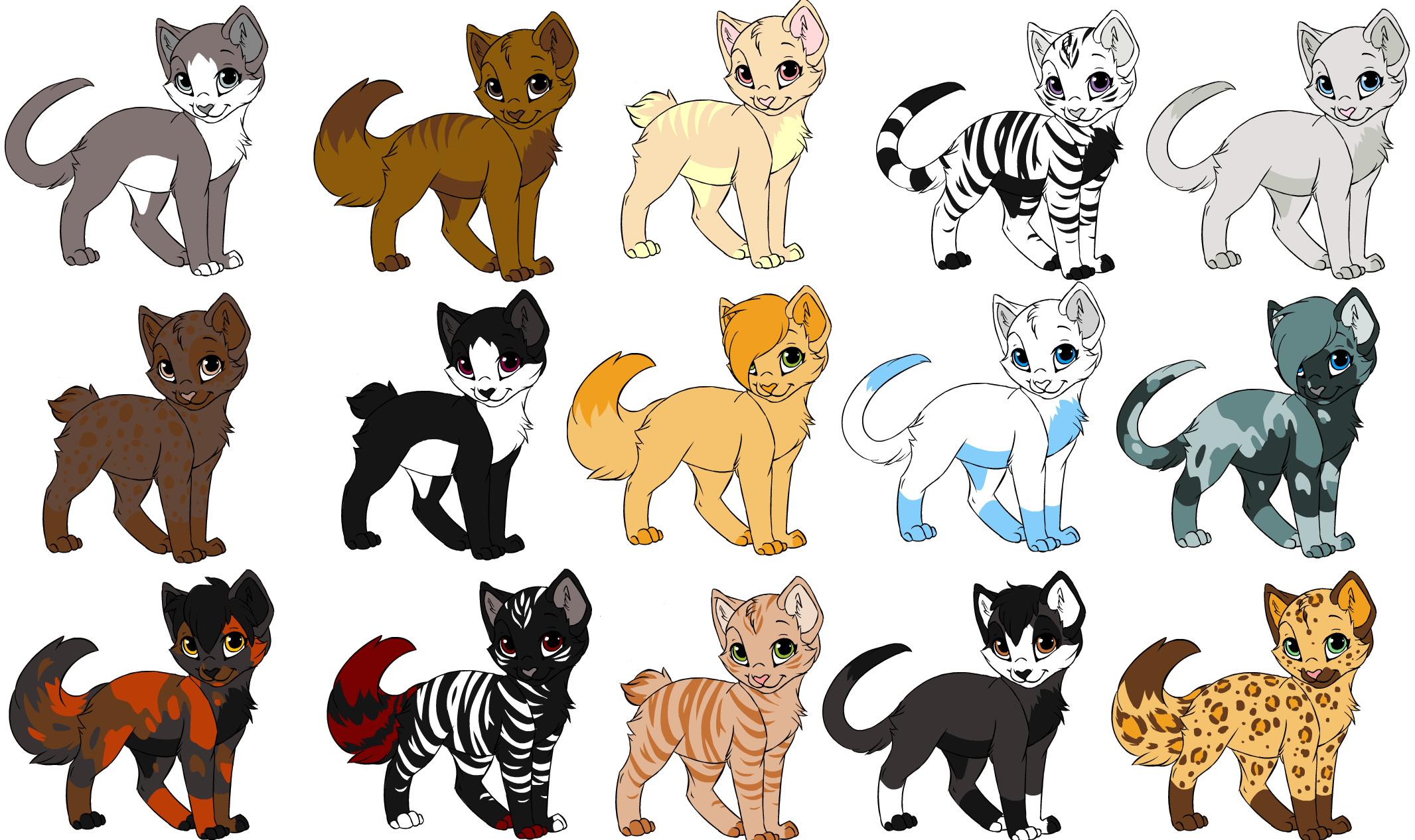 Cat Warriors Descriptions