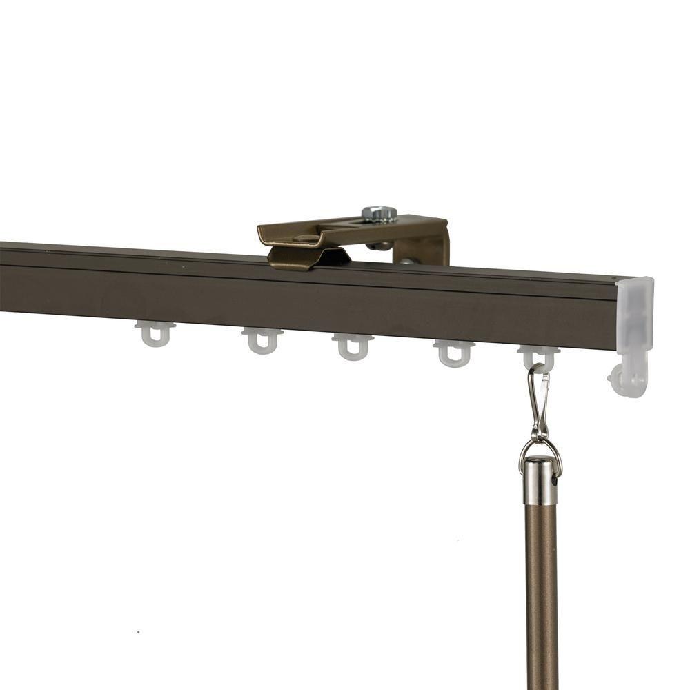 Art Decor Euroscope 132 In Non Adjustable Single Traverse Window