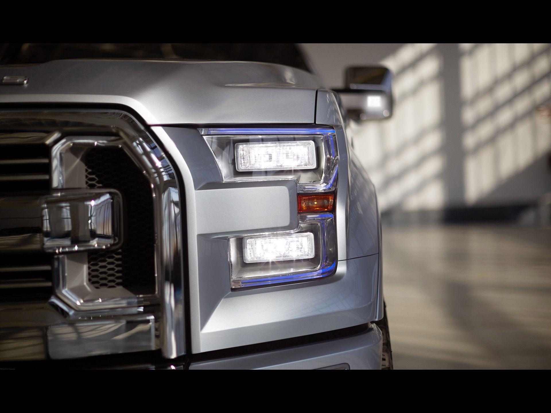 2013 Ford Atlas Concept Headlights