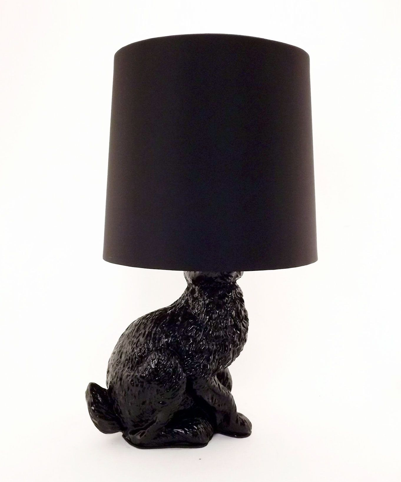 Diy Idea Use A Bottle Lamp Converter Kit To Turn An Animal Ornament Into A Table Lamp Hare Lamp Dot Bo I Like Lamp Unique Modern Furniture Diy Table Lamp