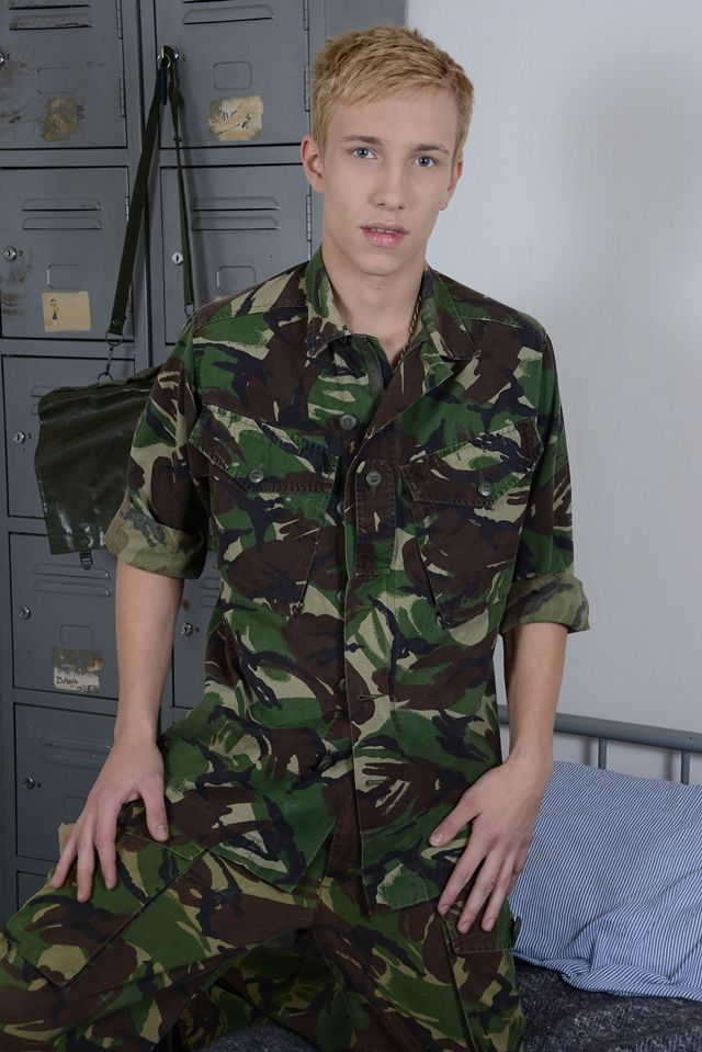 young twinks Gay army