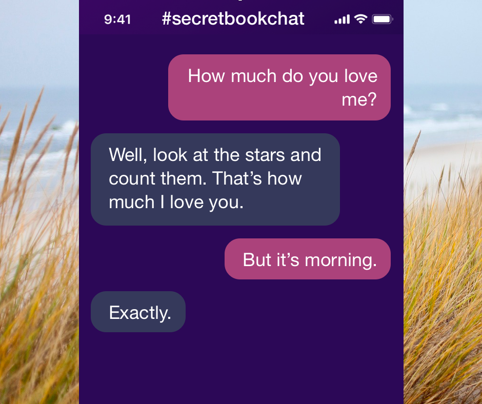 Read more funny stories in the secretbookchat funny text