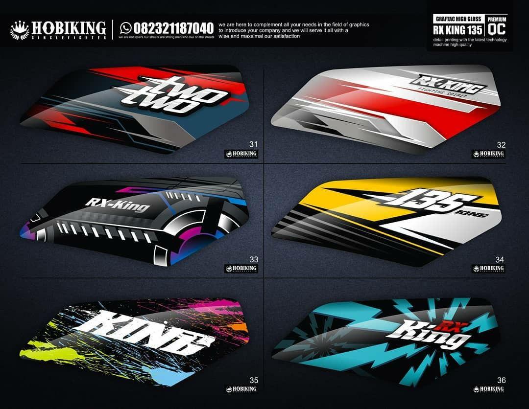 Pin Oleh Yaya Lugila Di Rx King Biyangkerok Desain Decal Desain Logo Otomotif Stiker Mobil