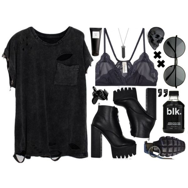 Horror Vacui. by evelynmassacre on Polyvore