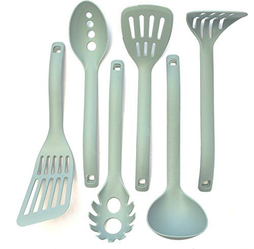 6 Piece Cooking Utensils Nested Design Innovative Kitchen