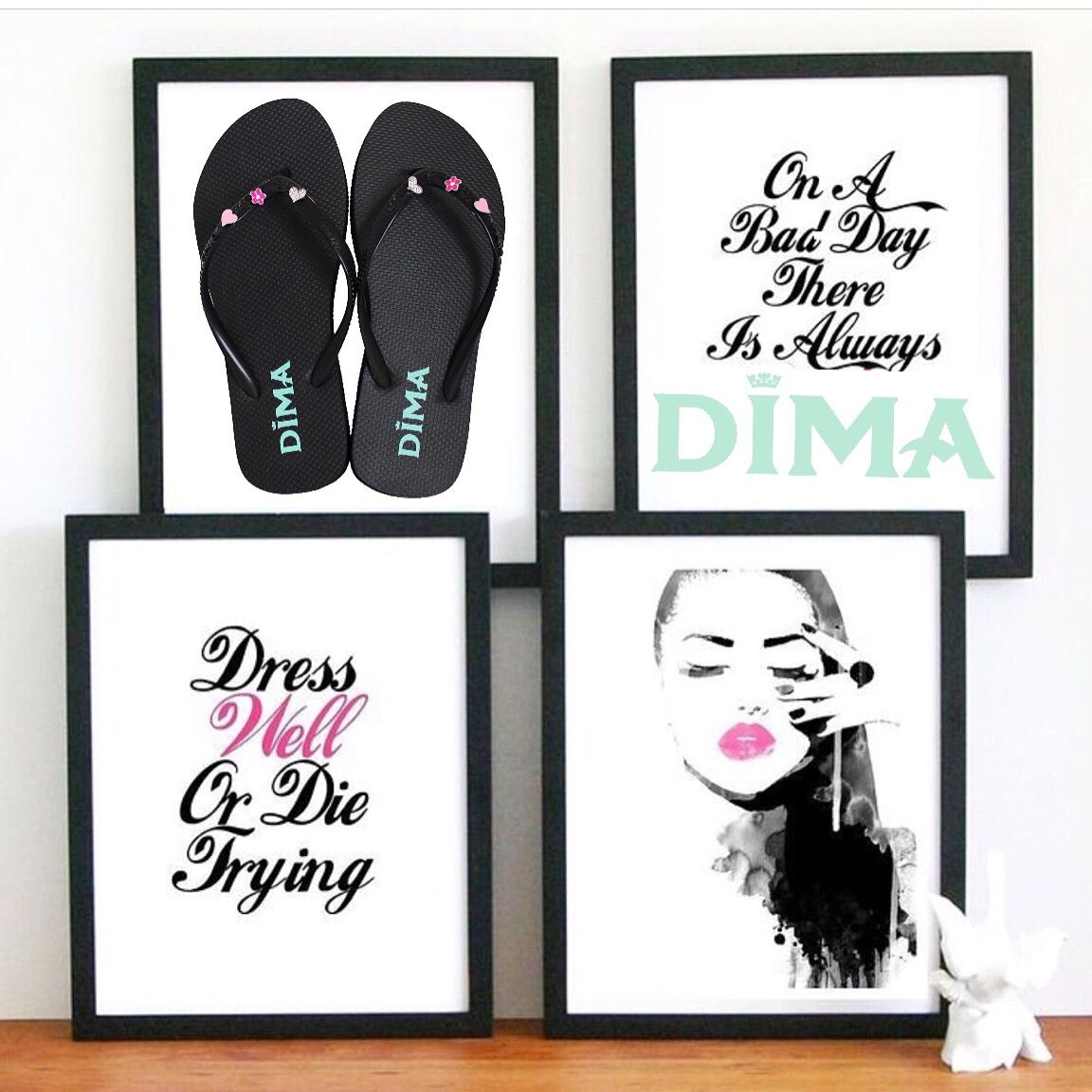 Dress well or die trying  Www.Dimaflipflops.com
