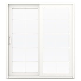 Jeld wen v 4500 715 in 10 lite glass white vinyl sliding patio jeld wen v 4500 715 in 10 lite glass white vinyl sliding planetlyrics Choice Image
