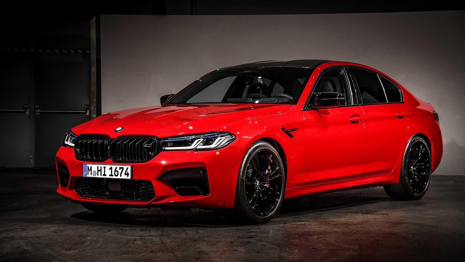 BMW M5 Competition place au restylage en 2020 Bmw m5