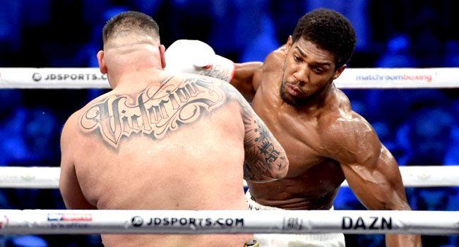 Anthony Joshua Vs Andy Ruiz Jr Rematch 07 12 2019 How It Went Down Anthony Joshua Vs Anthony Joshua Anthony