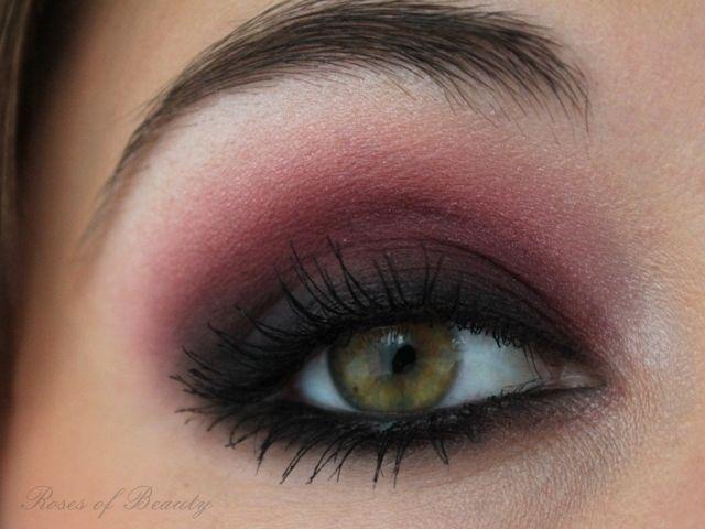 Roses Of Beauty Red Smokey Eyes Eye Makeup Pinterest Smokey