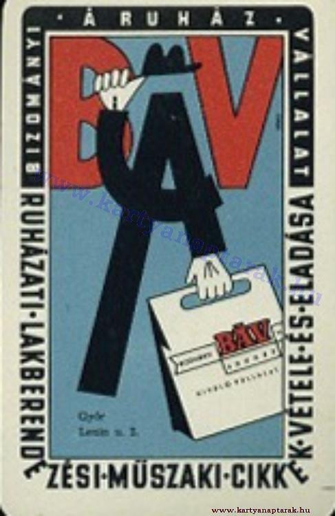 1962 - 1962_0097 - Régi magyar kártyanaptárak