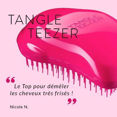 Dites adieu aux nœuds avec la brosse Tangle Teezer ! Elle