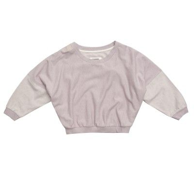 Inspired by the '80s, this cotton plush sweatshirt comes from Freddy's new Dance Glam Attitude collection. Waist-length, with batwing sleeves, you'll want to slip it on after dance class and wear it out for a drink with your girlfriends. - Fits at the waist, with batwing sleeves - Stretch ribbed hems - Made of pure cotton plush