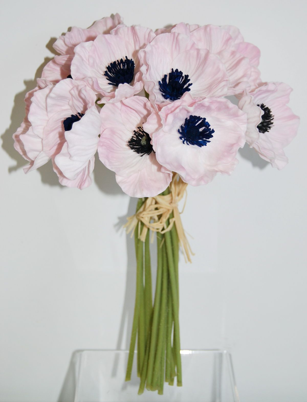 Wb221lp real touch poppy bouquet pink real touch flower wb221lp real touch poppy bouquet pink izmirmasajfo