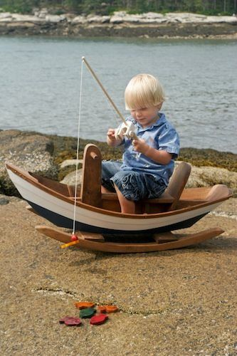 Wooden Toy Fishing Pole - 11 Main | For the Home | Pinterest ...