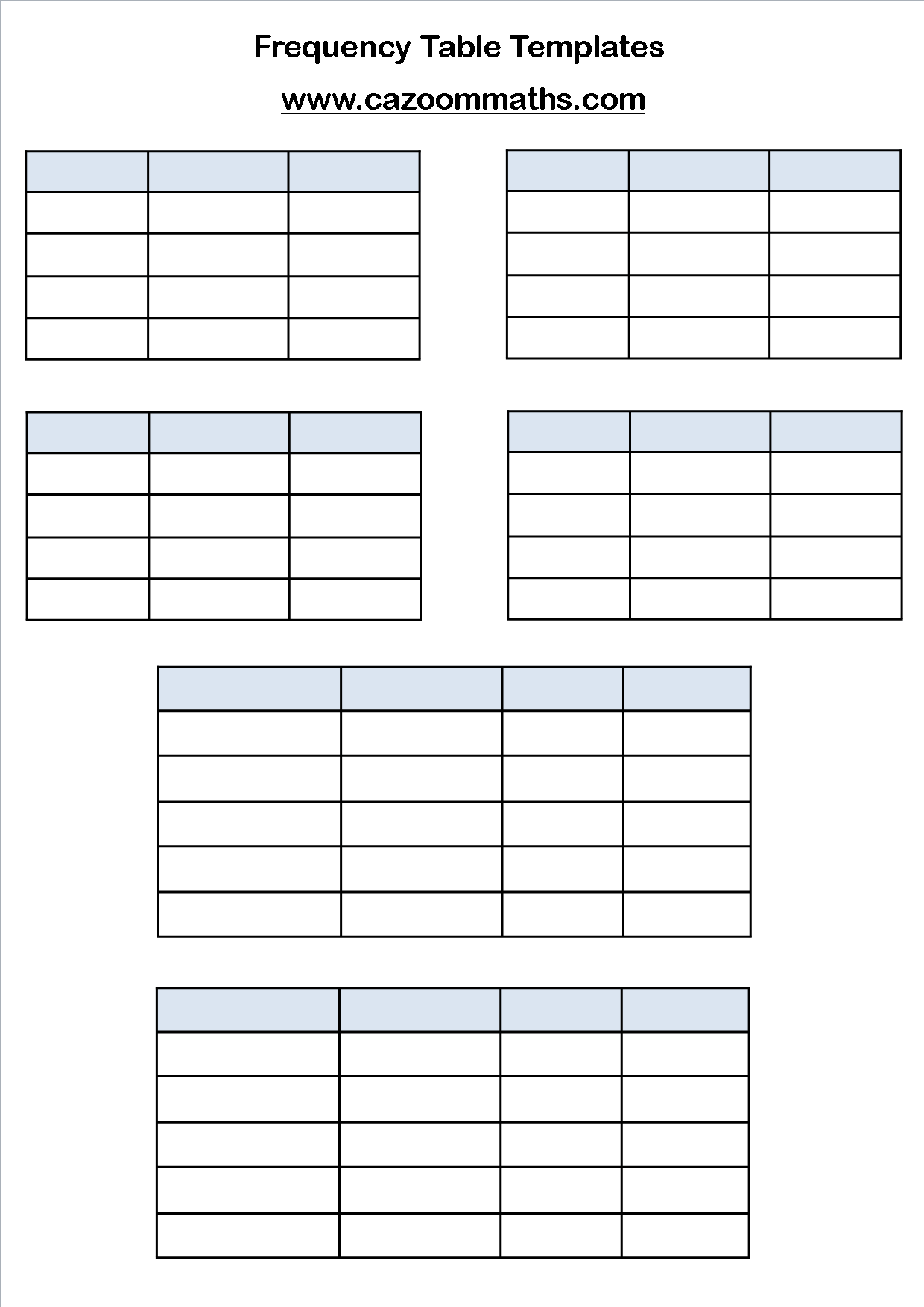 Saxon Math Blank Worksheet