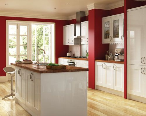 cream kitchen cabinets what colour walls screwfix launches new kitchen range real homes home 14219