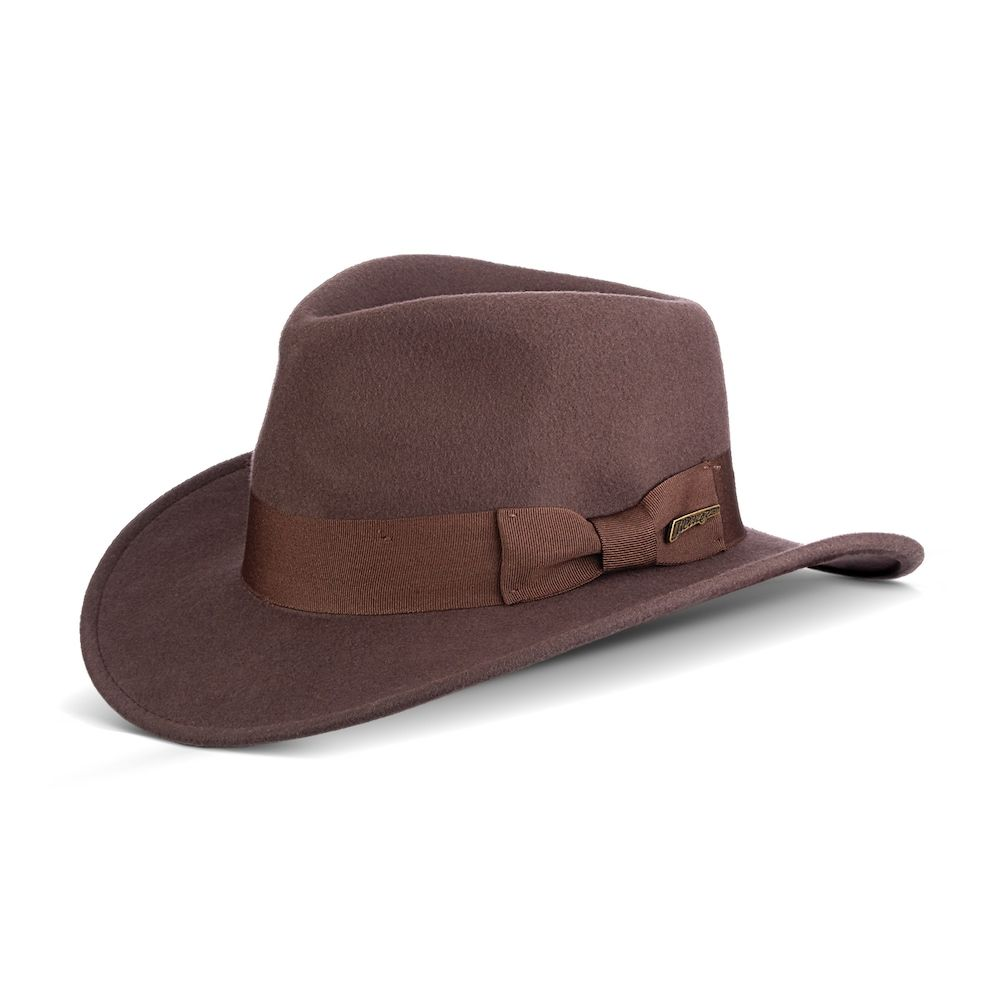 84fab06d5 Men's Indiana Jones Wool Felt Outback Hat | Products | Hats, Wool ...