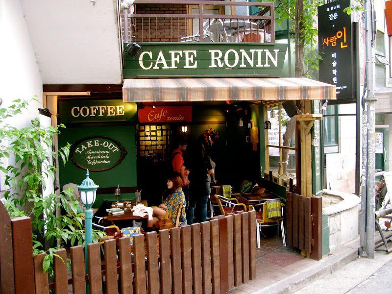 Resultado de imagen de RONIN CAFE HONGDAE