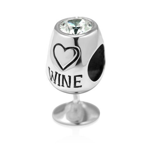 925 Sterling Silver Love Wine Glass with White Cz Bead Charm Fits Pandora Bracelet 925Collections http://www.amazon.com/dp/B00INR4CEC/ref=cm_sw_r_pi_dp_NNUQtb1ZEY8DF3G2