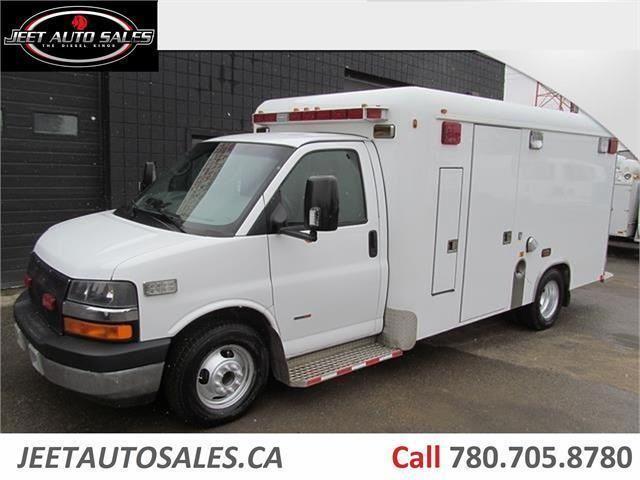 2007 Chevrolet Express Ambulance Body 6 6l Duramax Diesel Cars Trucks Edmonton Kijiji Duramax Diesel Truck Cargo Duramax