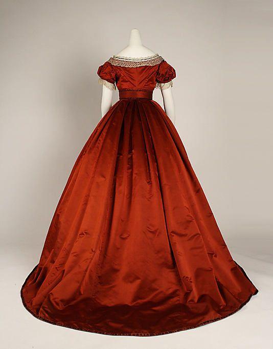 Dress, Visiting Date: 1865–68 | 1860\'s | Pinterest
