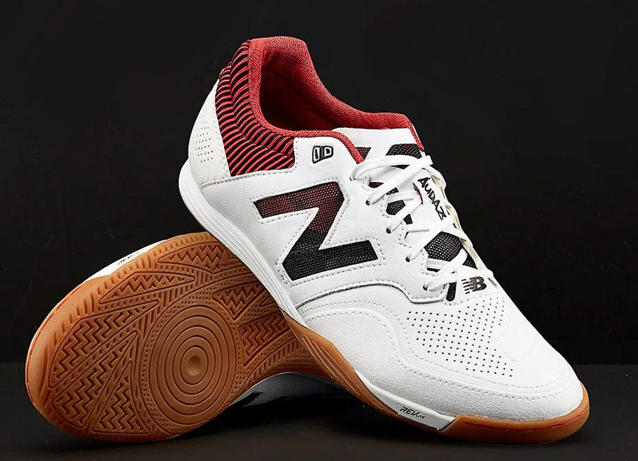 b5948f796 #football #soccer #futbol #futsal #nbfootball New Balance Audazo 2.0 Pro IN  - White / Red
