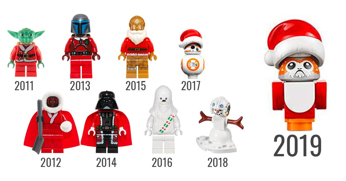 Calendrier Star Wars 2019.Lego Star Wars 75245 Advent Calendar 2019 Un Porg De Noel