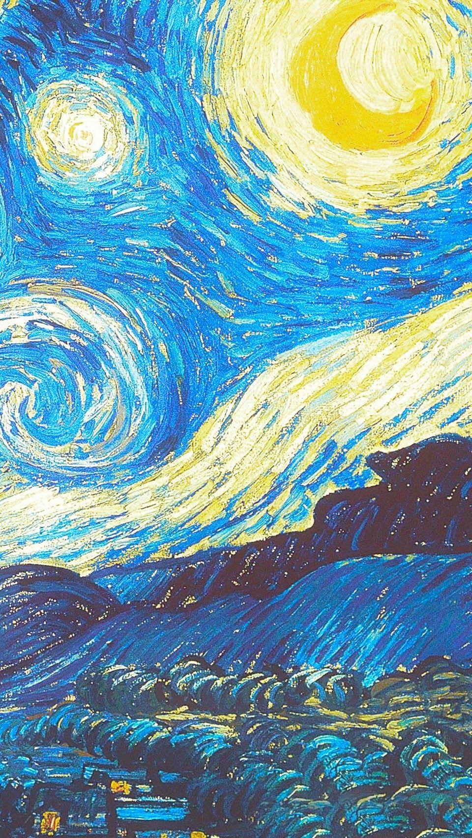 76ecc9021d2b5b592dea3e6ea0d7093f Starry Night Van Gogh Van Gogh