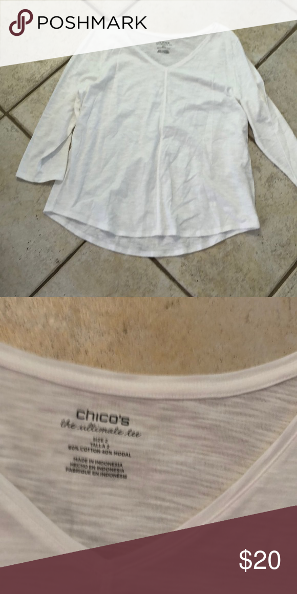 58d2fe5842125b Chico s top This is a Chico s top in excellent used condition comes from a  pet free smoke free house Chico s Tops