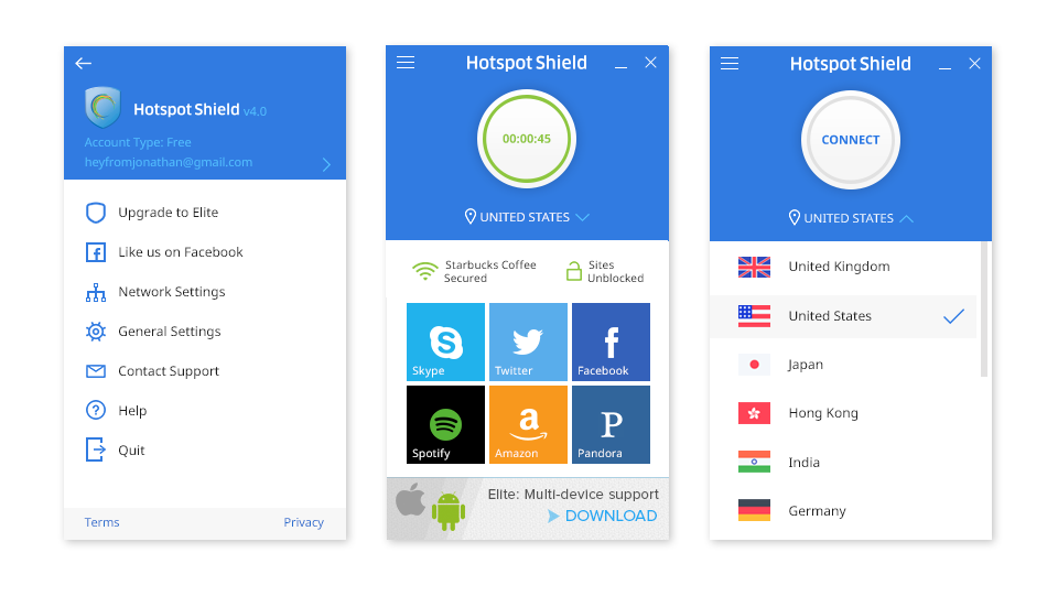Hotspot Shield 7.12.0 Crack & Keygen Free Download Tool