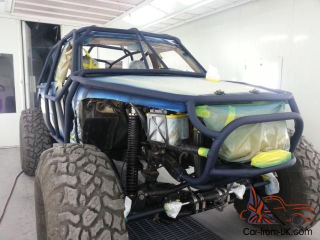 Rock Crawler Buggy Extreme Offroad 4x4 Cage Tube Chassis Off Road Crawler Todoterreno Estilo