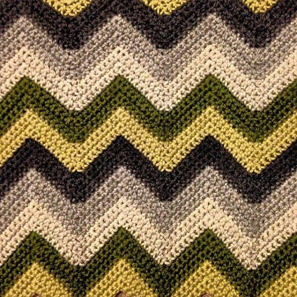 louloudeane chevron crochet | Chevron Crochet | Pinterest
