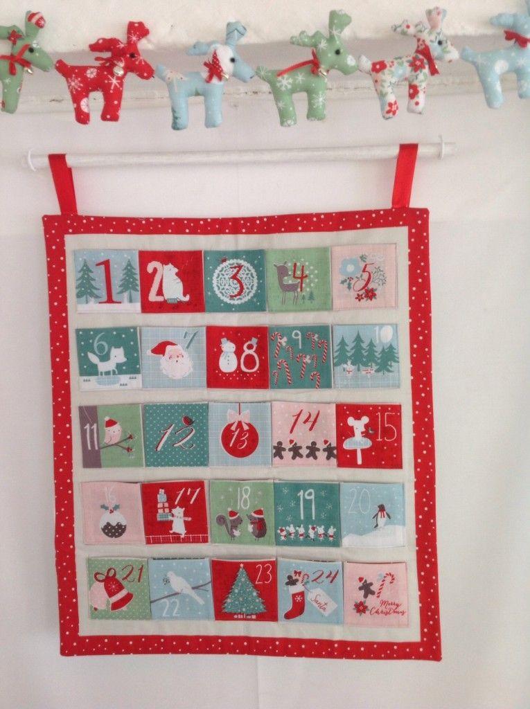 Christmas Wish Advent Calendar Quilting Pinterest Advent calendars