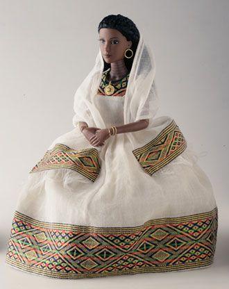 Collectible African American Dolls - EthiDolls - Ethiopian Queen