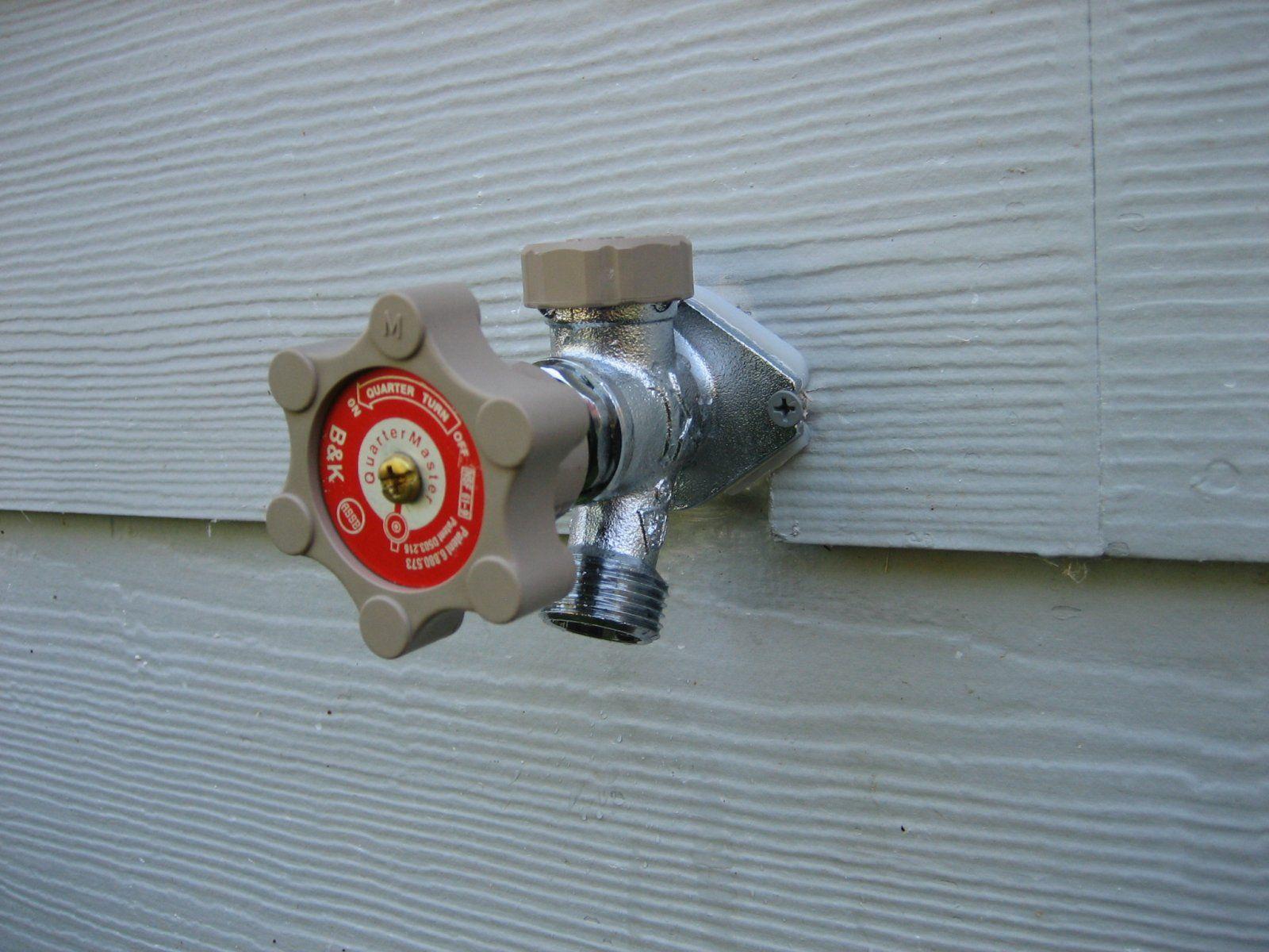outdoor faucet repair diy plumbing