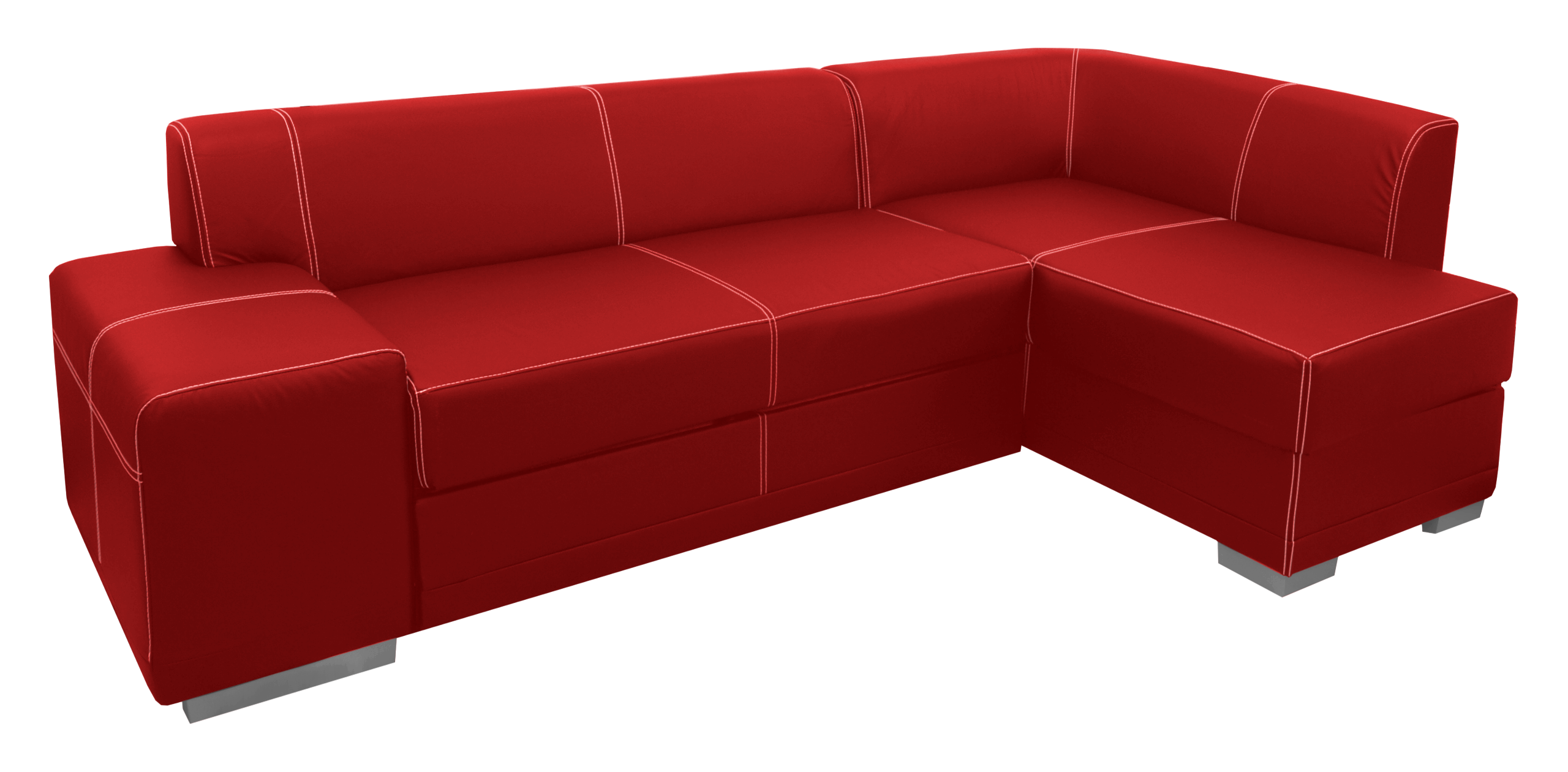 Red Sofa Bed For