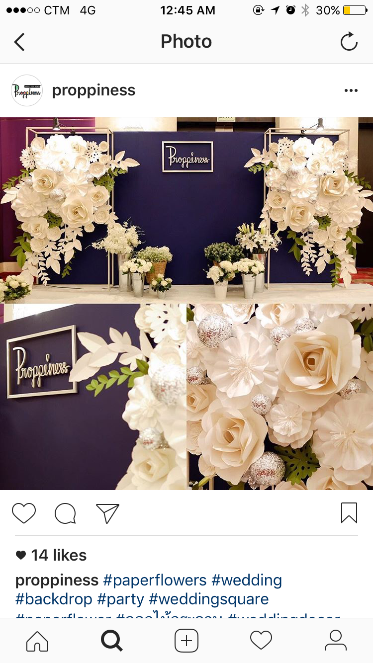 Pin by stella ng on macau wedding decor pinterest backdrops wedding backdrops photo backdrops wedding decorations paper flower backdrop giant paper flowers wedding preparation flower letters mightylinksfo