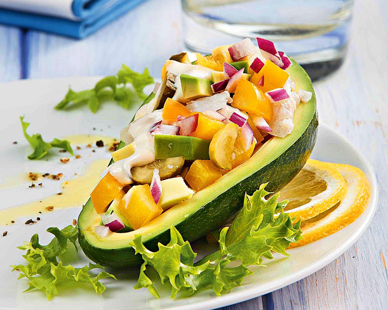 Блюда с авокадо рецепты с фото простые