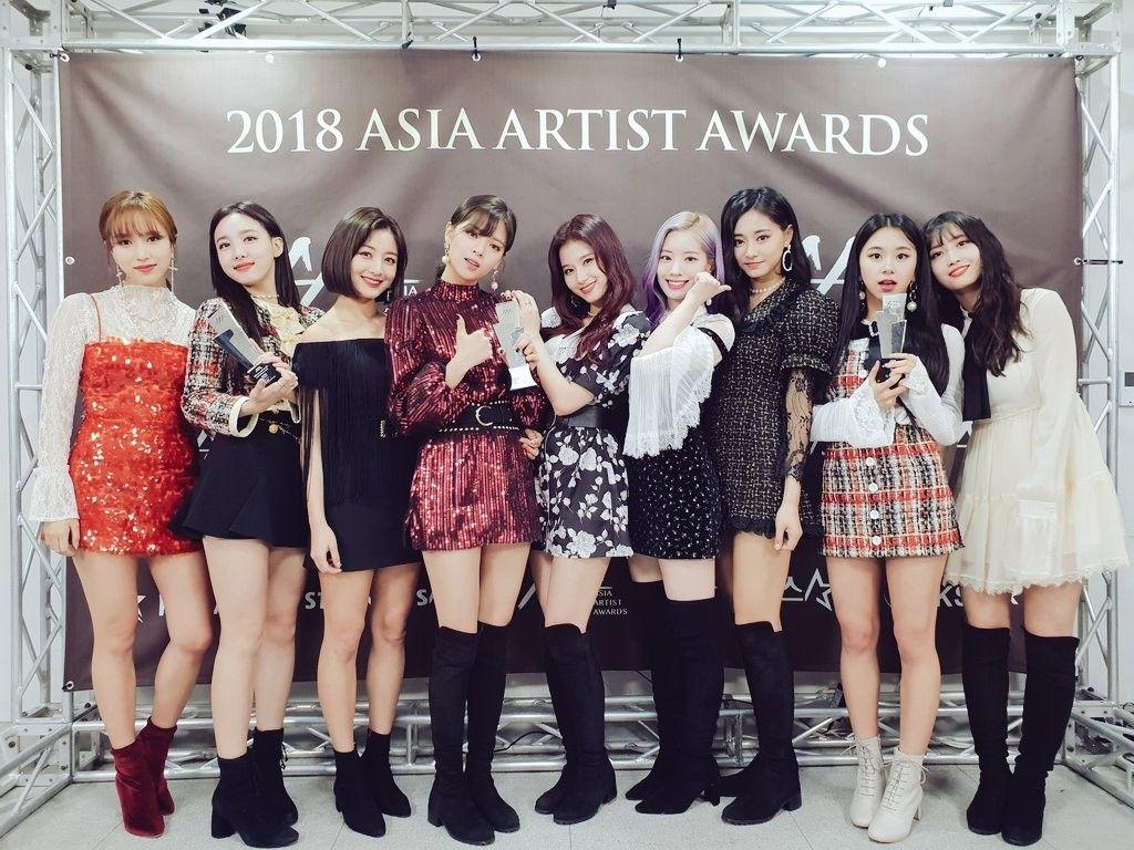 Twice 181128 Asia Artist Awards 2018 Kpop Nữ Thần Mini Album