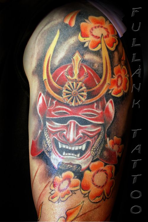 samurai mask tattoos bing images tattoo samurai. Black Bedroom Furniture Sets. Home Design Ideas