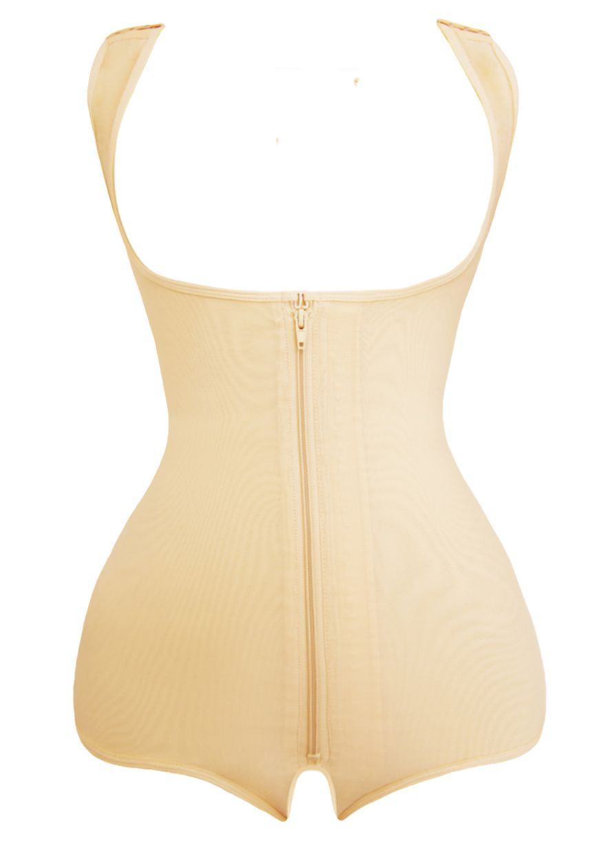 78622505f Adjustable Wide Straps Open Crotch Butt Lifting Slimming Bodysuit Body  Shaper Shapewear Sexy Lingeire