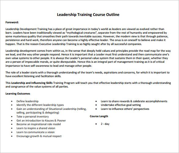 math worksheet training course outline template free word business - training outline template
