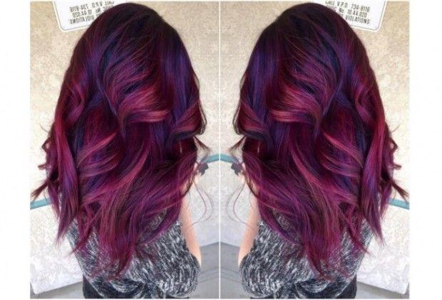 29 photos de couleurs super tendance Couleur cheveux