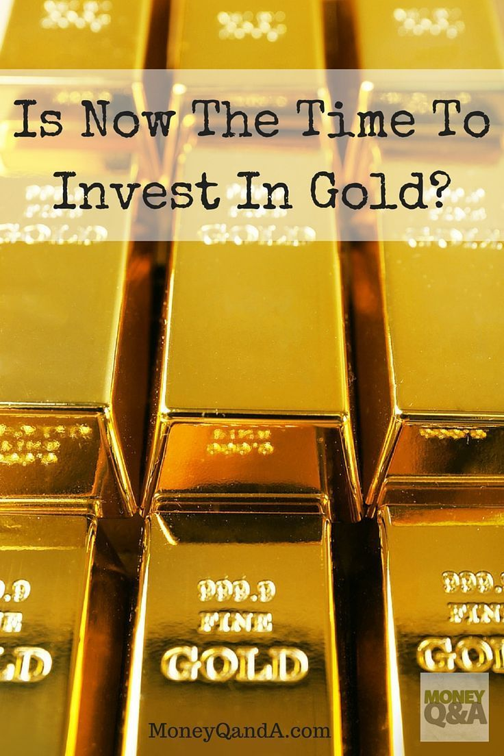 Do you invest in gold? Why have you invested in gold or chose not to invest in gold? Is now the best time to invest in the precious metal? Maybe, maybe not.