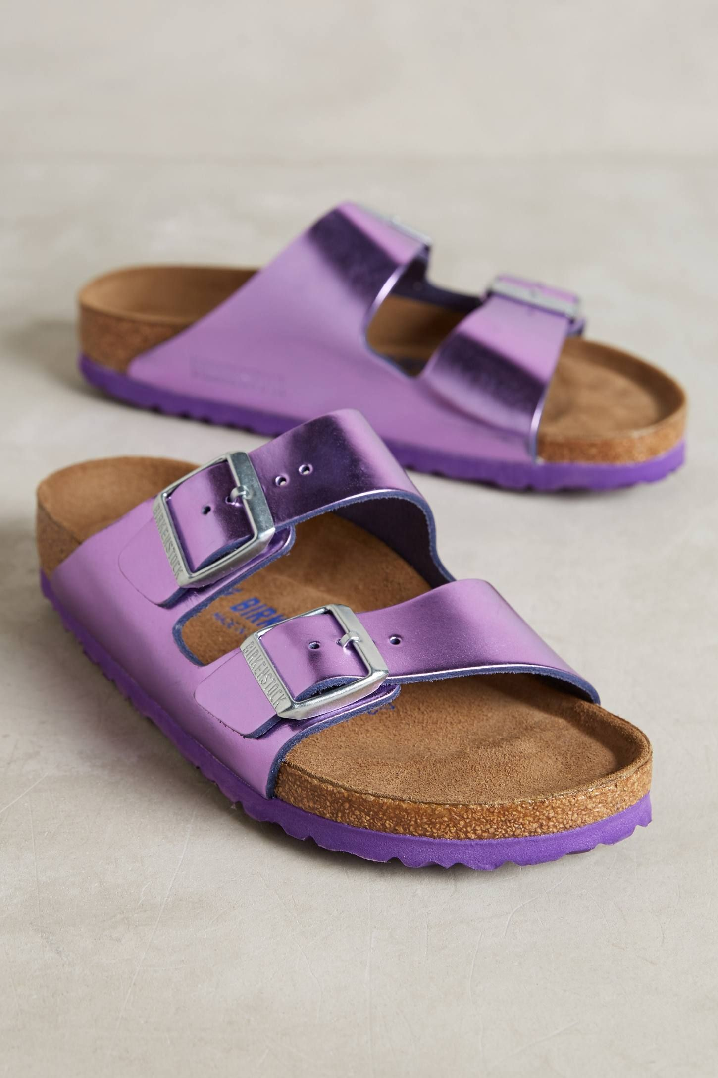 Birkenstock FLORIDA - Chaussons violet tb10Px9