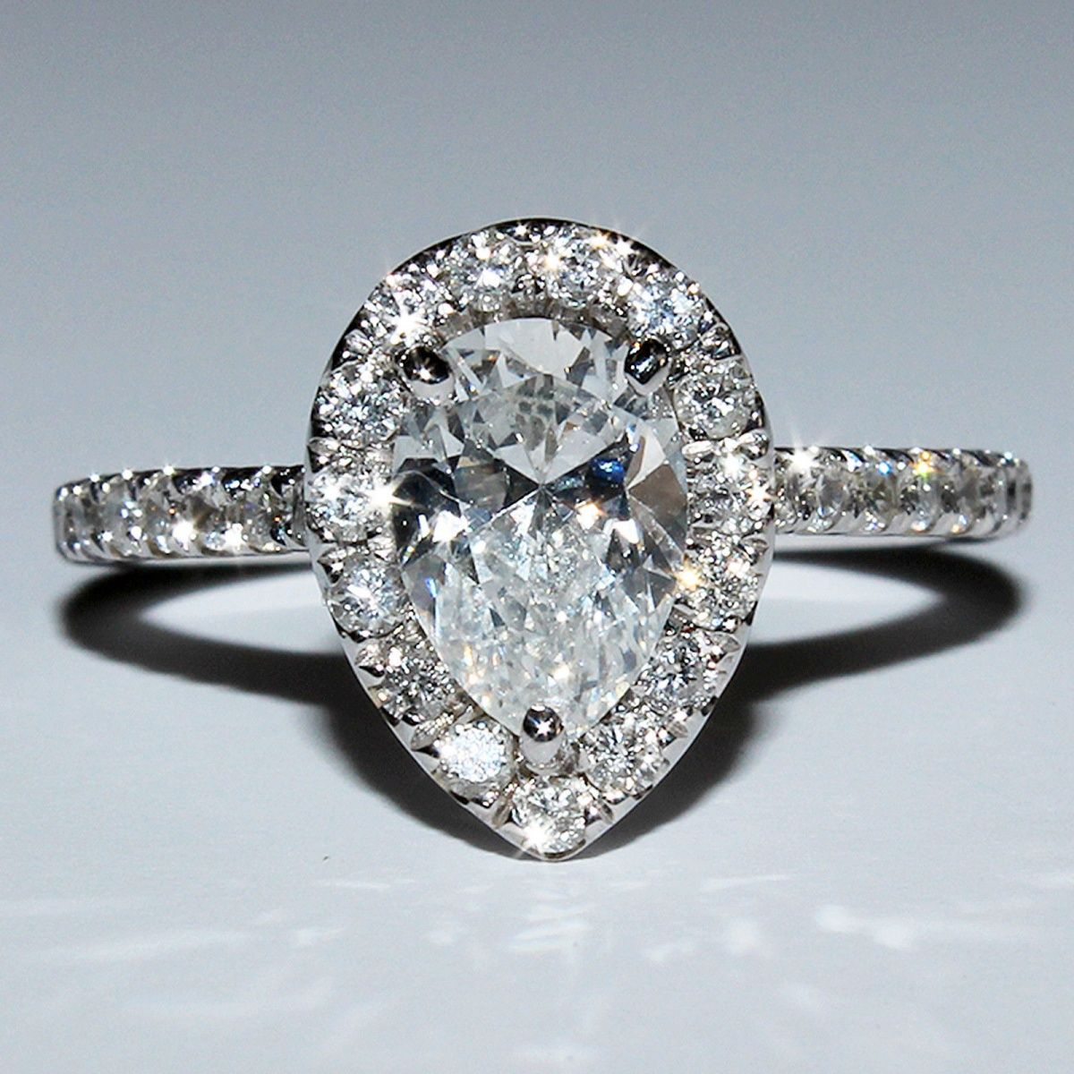 Vintage engagement rings pear shaped check out more pear shaped
