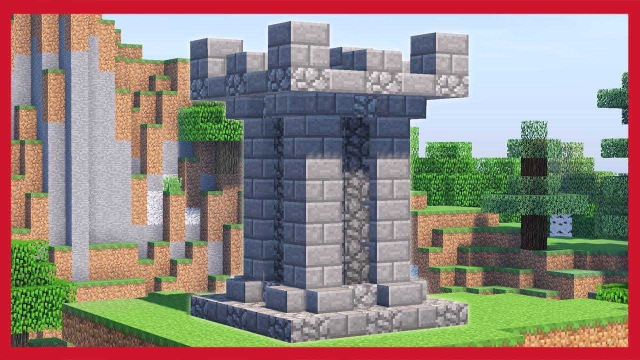 Come Fare Un Letto Su Minecraft : Minecraft: come fare una torre di guardia minecraft pinterest