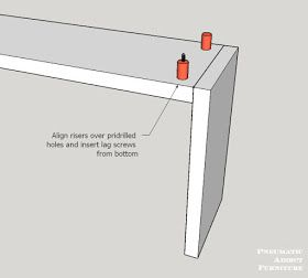 ea4f057c8ea47d3fce057b3f732f0ae9 how to build a floating top console table with free building plans