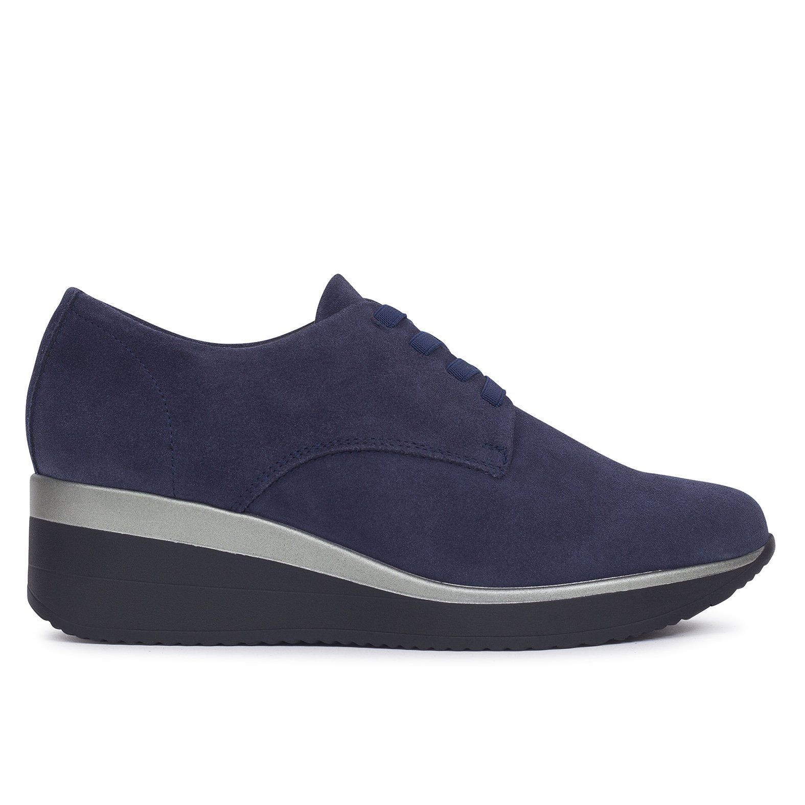 d21320a470ce4 Zapato blucher mujer AZUL de piel Zapatos online de marca miMaO – miMaO  ShopOnline